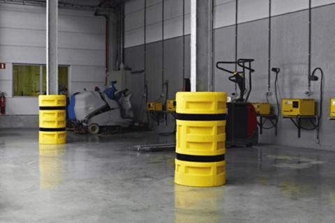 38fabc1e0418 La mejor protección colectiva para pilares y columnas que soporten carga